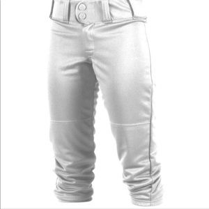 Softball pants 🥎(completely white)